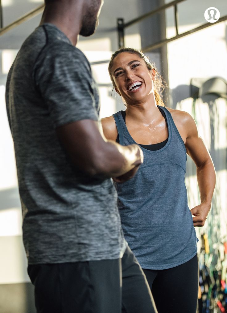 Better together—get sweaty with your people in lululemon performance gear.