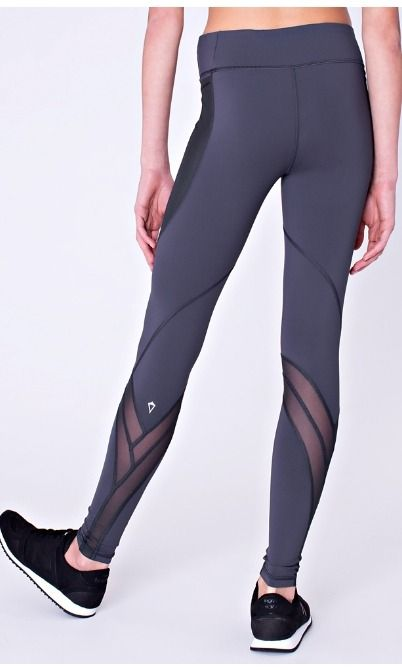 Flow from studio to street in these high–waisted tights designed with Mesh to ...
