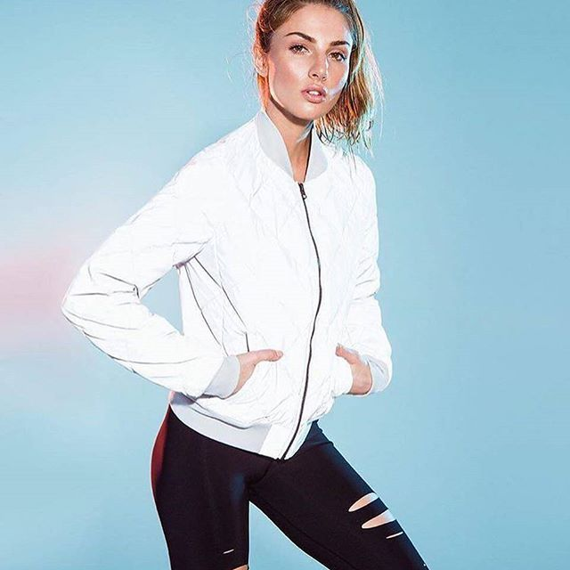 Go with the glow ✨ Our Reflective Idol Bomber and Ripped Warrior Legging court...