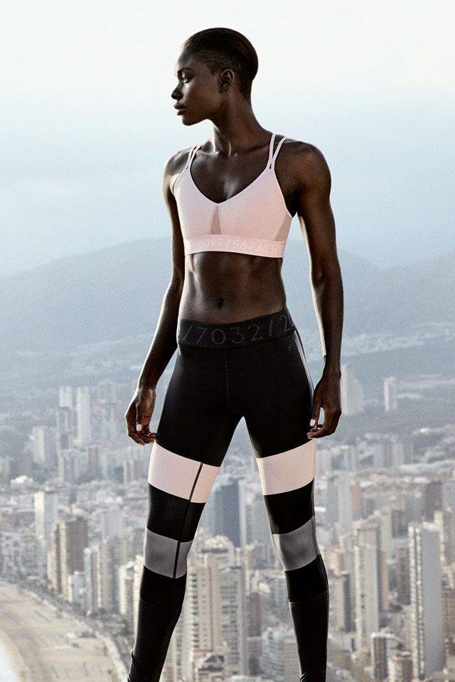Indulge in trendy sportswear for men and women. Click to shop running tights, ja...
