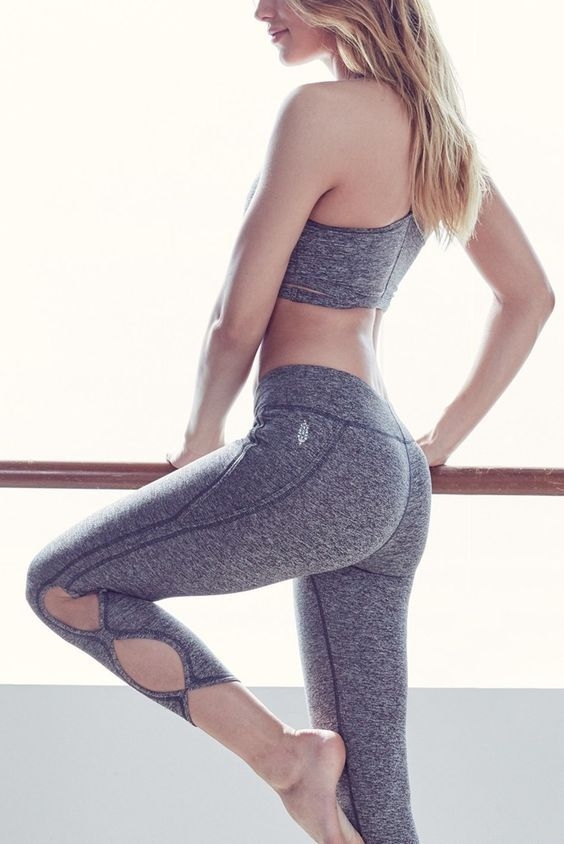 Infinity Cutout Crop Leggings