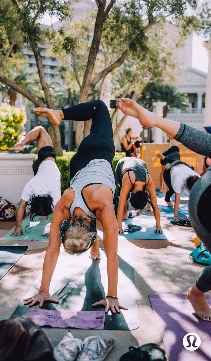 Lululemon's guide to mindfulness in the city of sin.