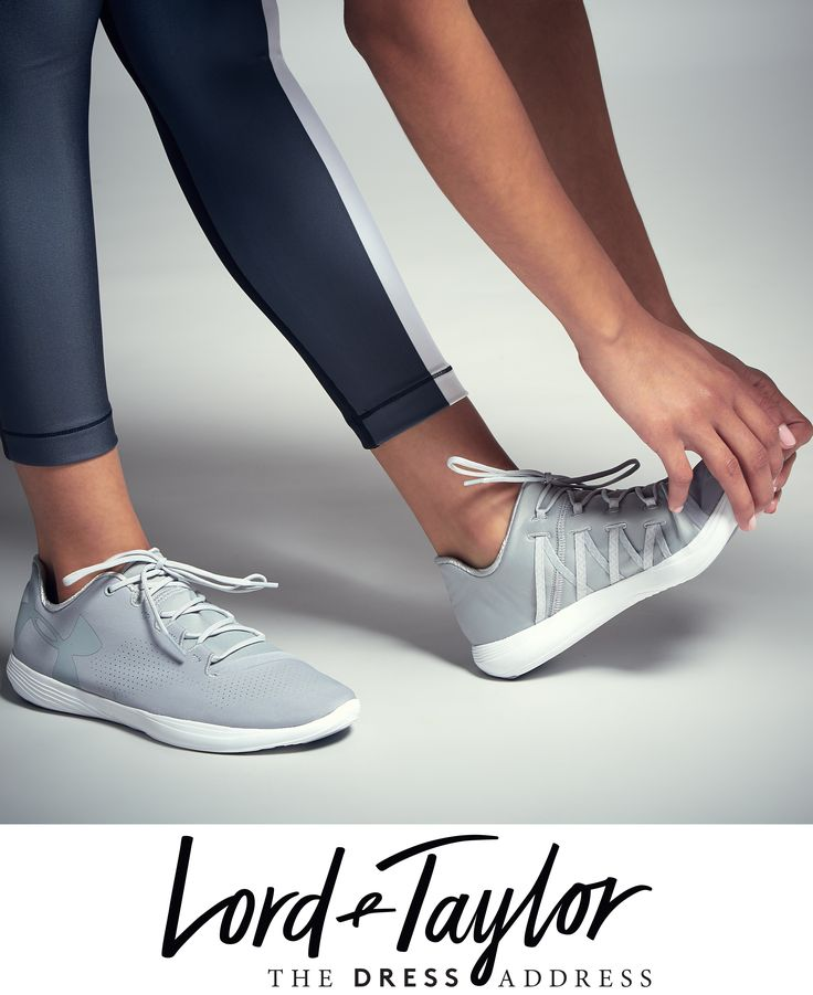 Stretching into 2017 in style. Shop these Under Armour sneakers now! (multiple c...