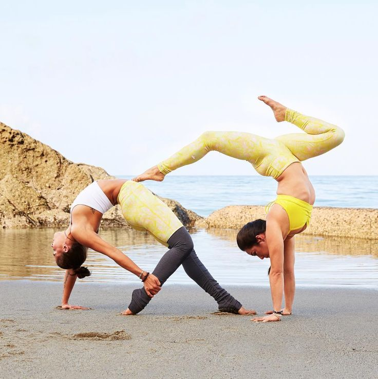 Surround yourself with friends who support your yoga practice. @AubryMarie is fe...