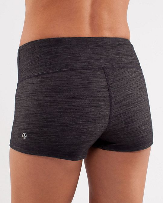 We love workout out in our Lululemon shorts! Working on getting our own short li...