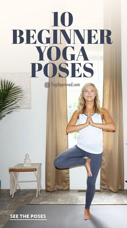 Beginner yoga poses can increase endurance and cultivate mindfulness. Start your...