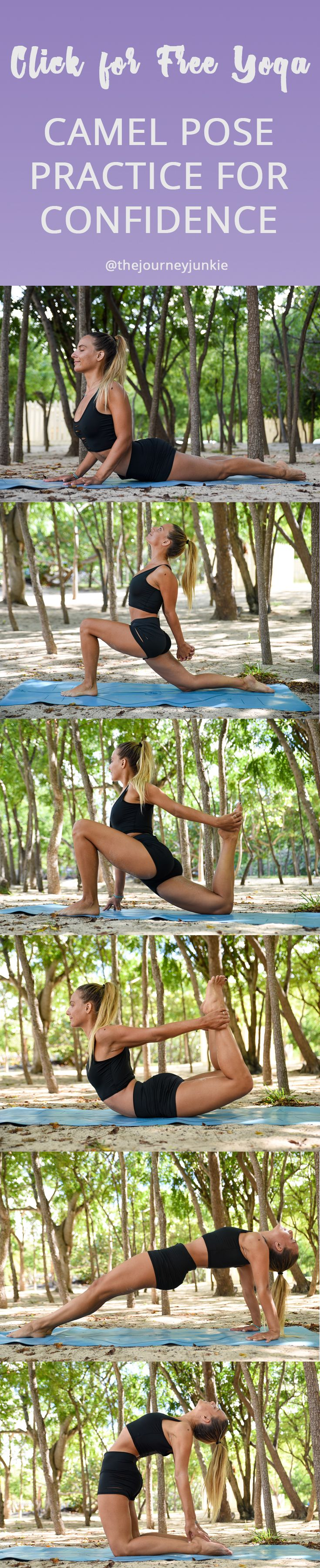 Camel Pose Yoga Practice: Build Your Confidence in Backbends - The Journey Junki...
