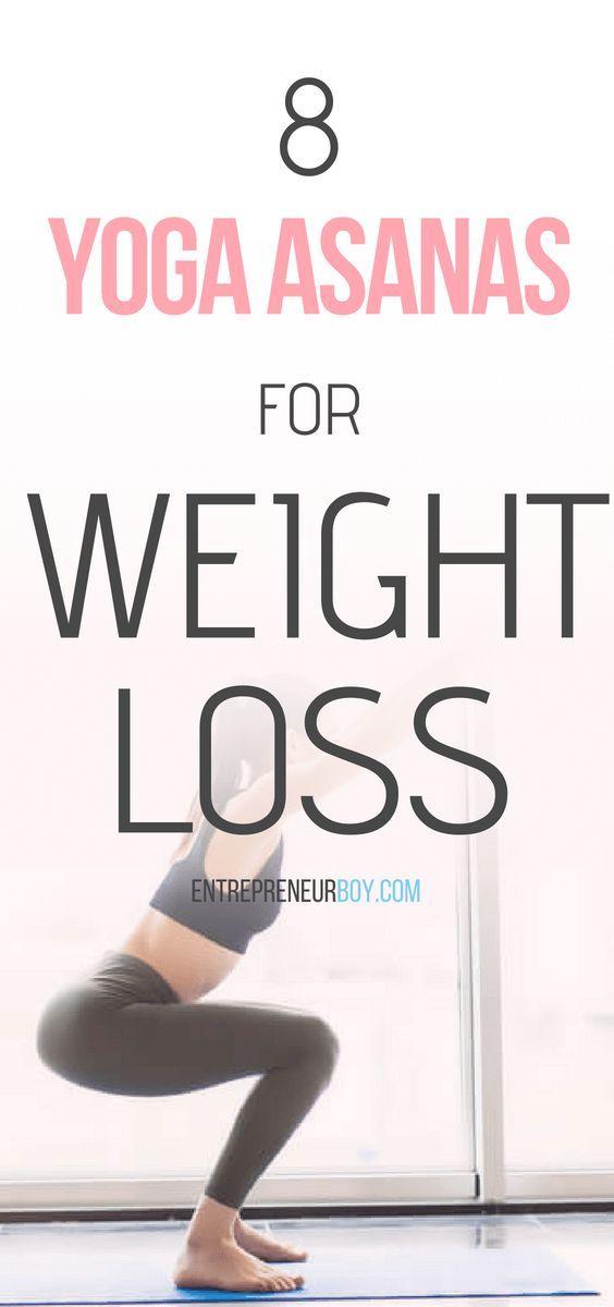 8 Yoga Asanas for Weight Loss