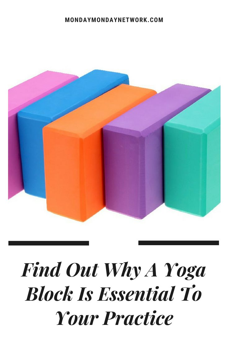 Calling all beginners and yogi experts! A yoga block is an essential tool to enh...