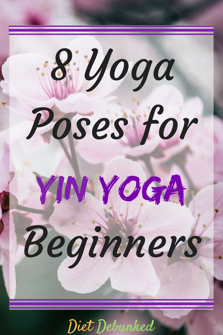 Check out these 8 yoga poses that are great if you're a yin yoga beginner. Withi...