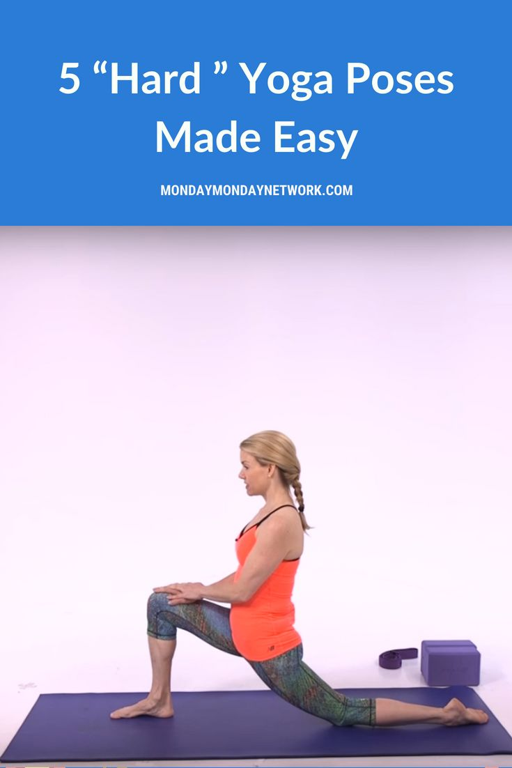 Getting a handle on hard Yoga Poses Made Easy is a matter of believing in yourse...