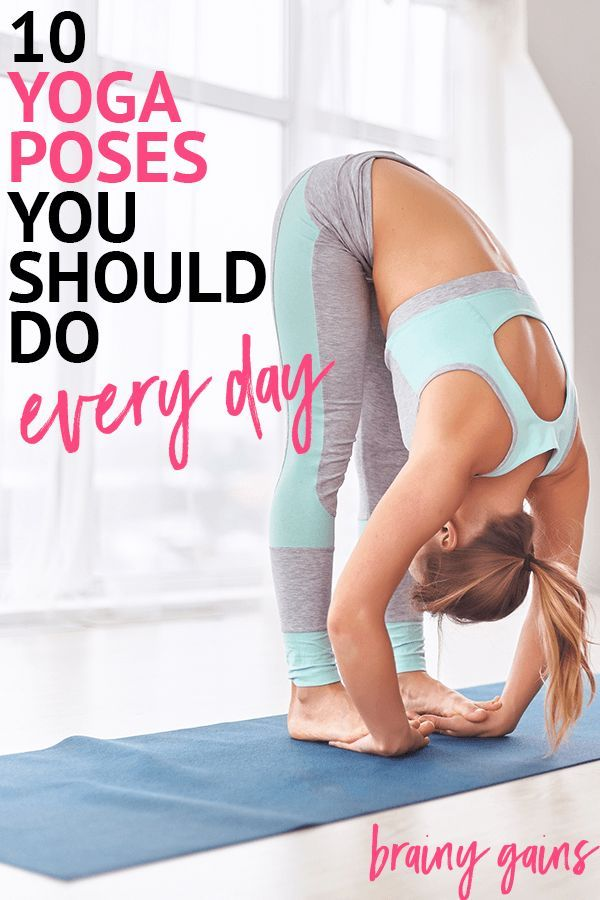 Got sore muscles or just looking to tone up? Practice these 10 yoga poses daily ...