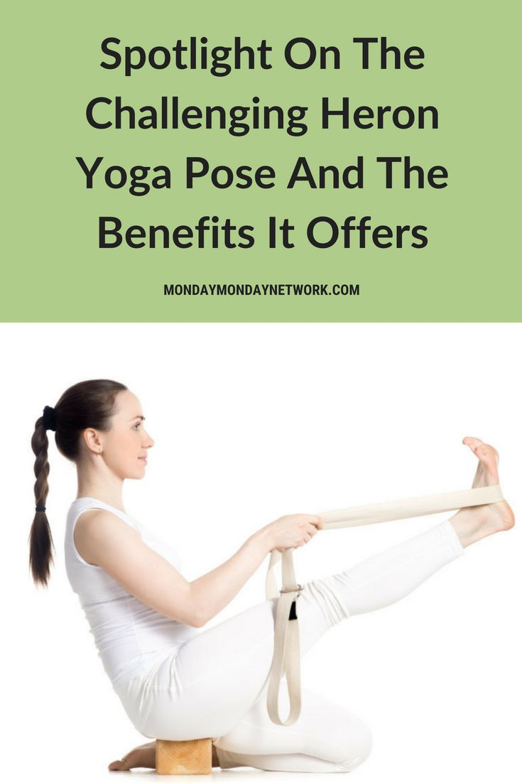 Have you tried to perform the Heron yoga pose? It has numerous benefits, includi...