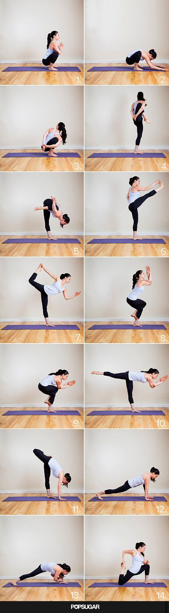 Holy Hot! Yoga Sequence to Do Your Tight Pants Justice.