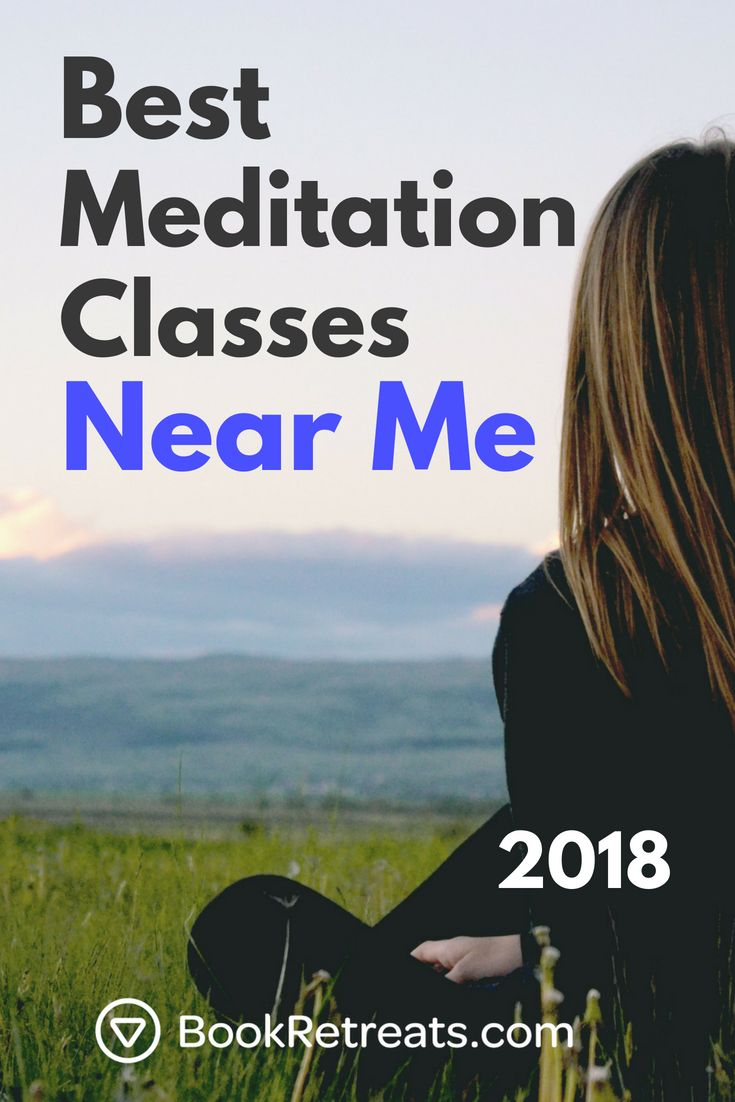 "If you've ever wondered ""are there any #meditation classes near me?"" We'..."
