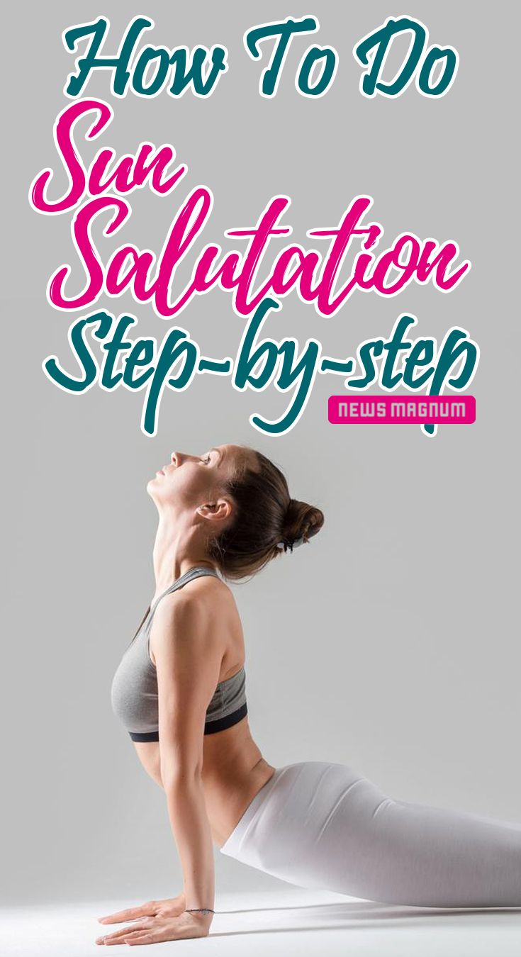Learn how to do the 12 poses of Sun Salutation step-by-step perfectly. Also, kno...