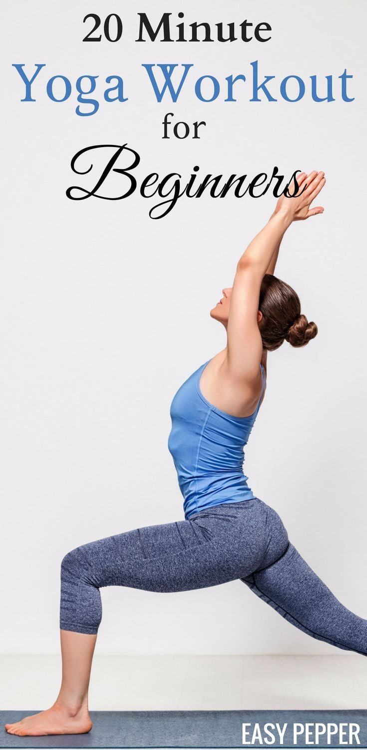 Looking for a good yoga workout at home and don't know where to start? Take a lo...