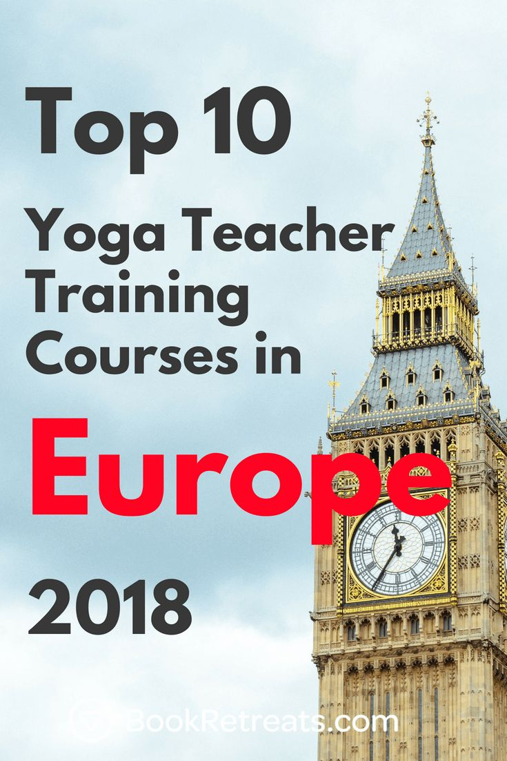 Looking for a yoga teacher training course in Europe? Why not enjoy a luxury Eur...