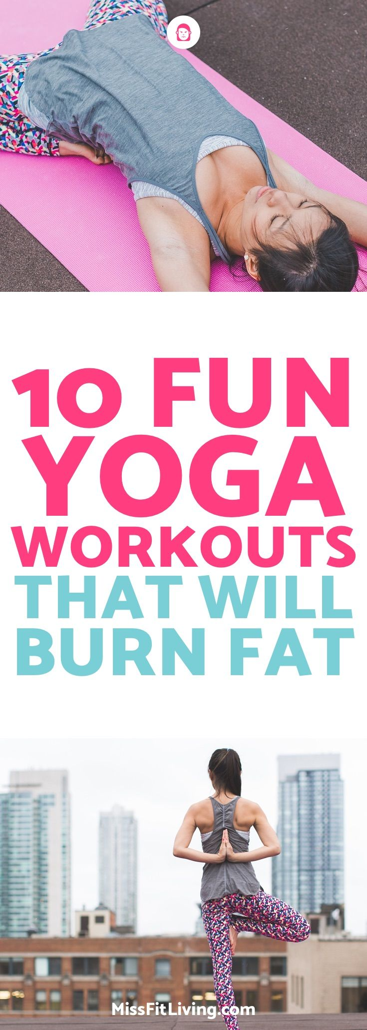 Looking to lose weight? You should give yoga a shot. Here are 10 yoga workouts t...