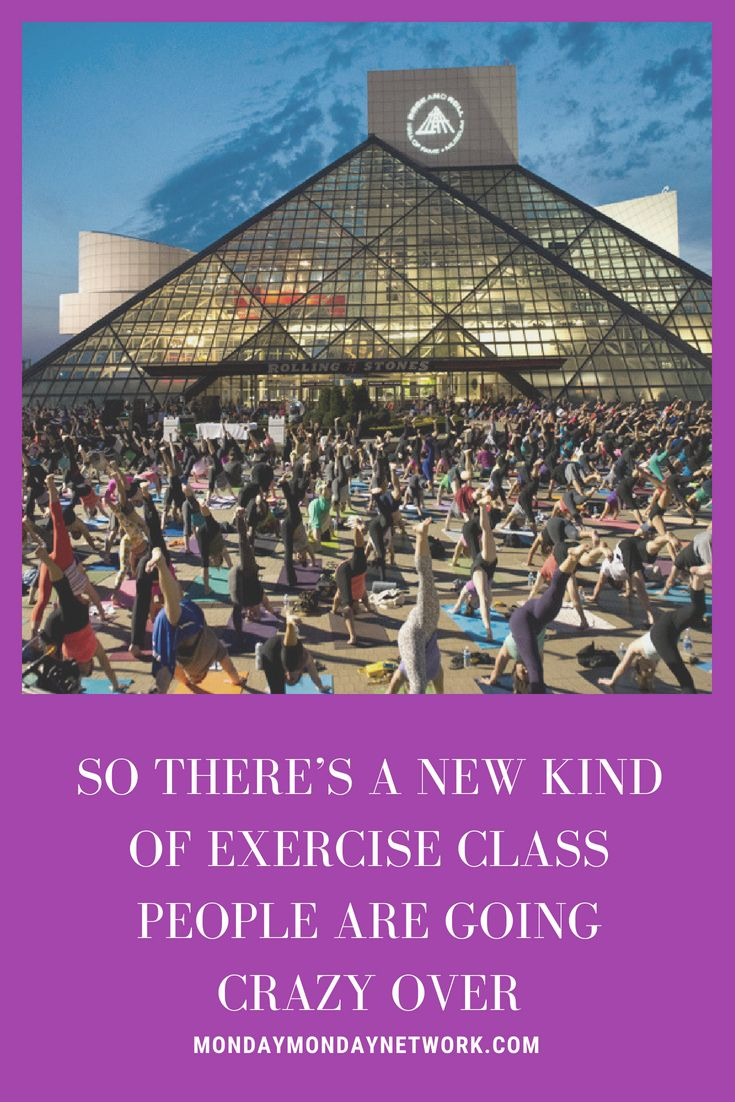 Rock 'N Roll yoga is a new trendy form of yoga being offered at many cutting-e...