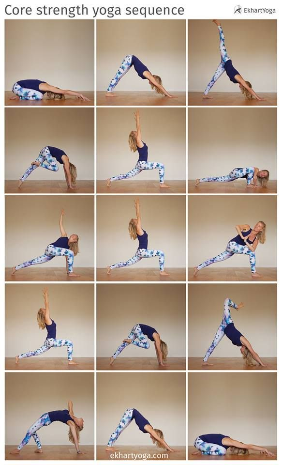 Strengthen your core, free your hips, work on your balance and open your heart i...