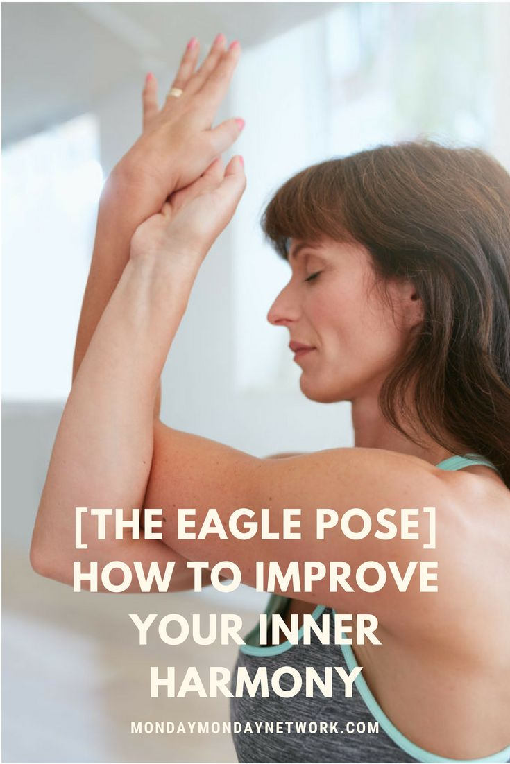 The eagle pose is fun. It also offers a great many benefits to the mind, body,...