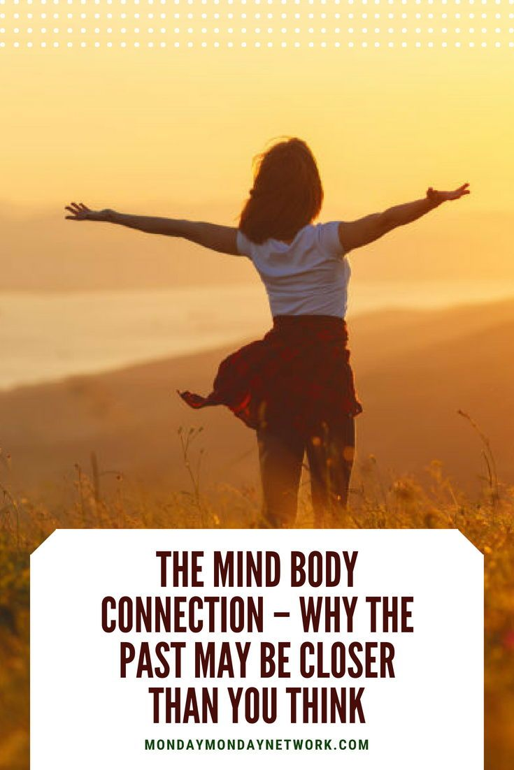The mind body connection is very real. We face difficult experiences on our jour...
