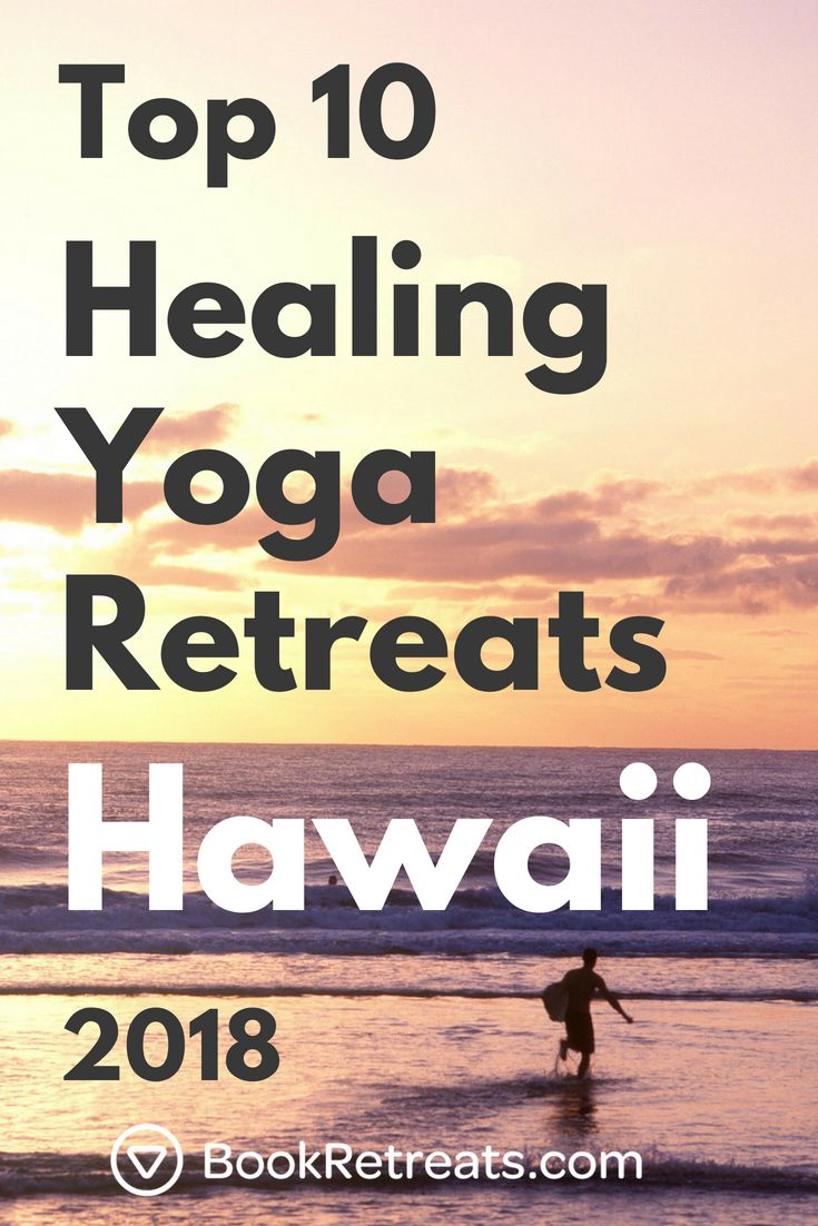 These are the top healing yoga retreats Hawaii has to offer. The time to heal is...