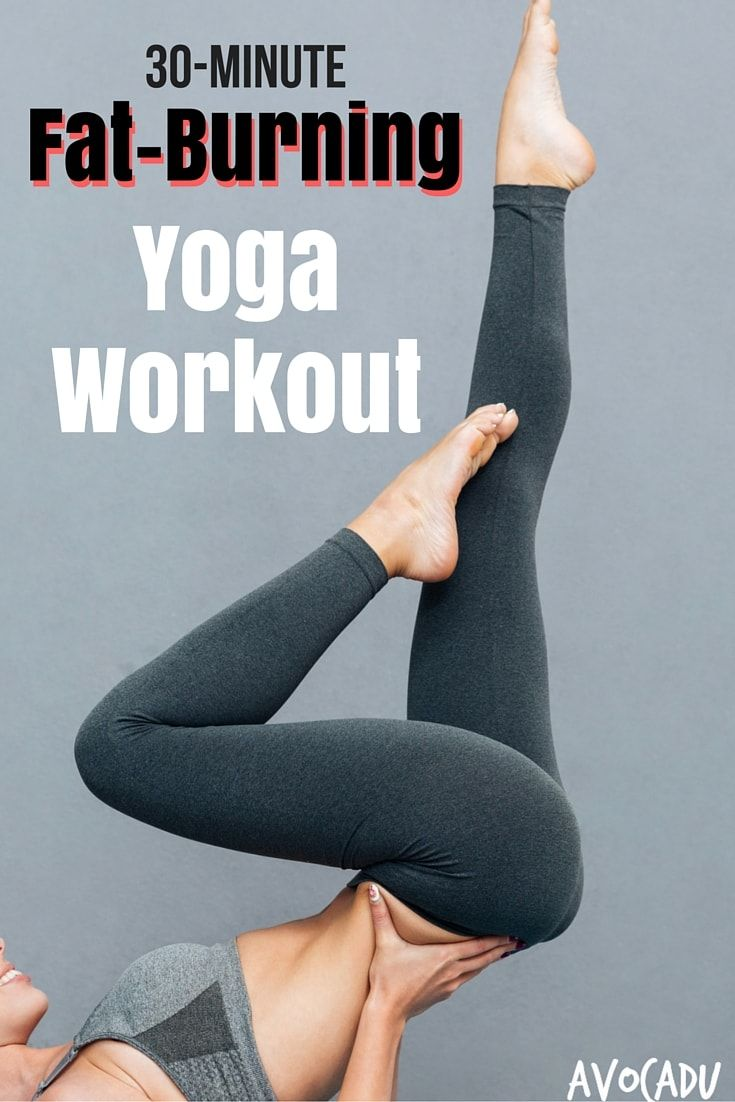 This 30-minute fat burning yoga workout will help you lose weight, get more flex...