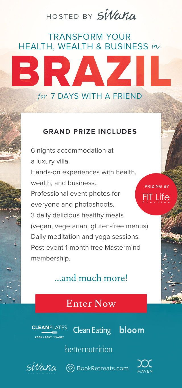 Want to win a #yogaretreat in #brazil for you and a friend? Enter to win this #f...