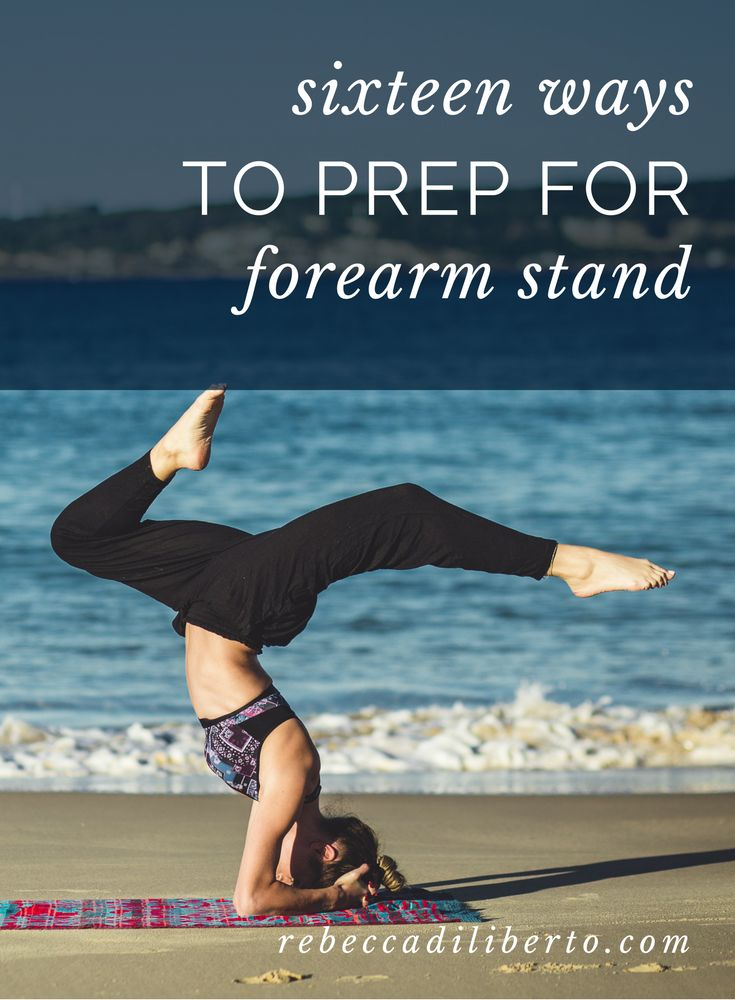 get instant access to this forearm stand sequence | click to get it