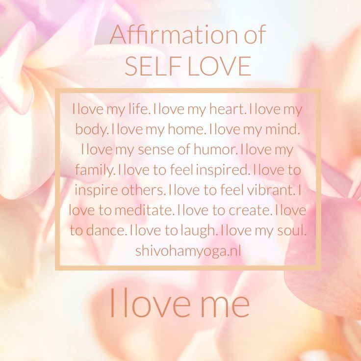 Image result for affirmations about self-love