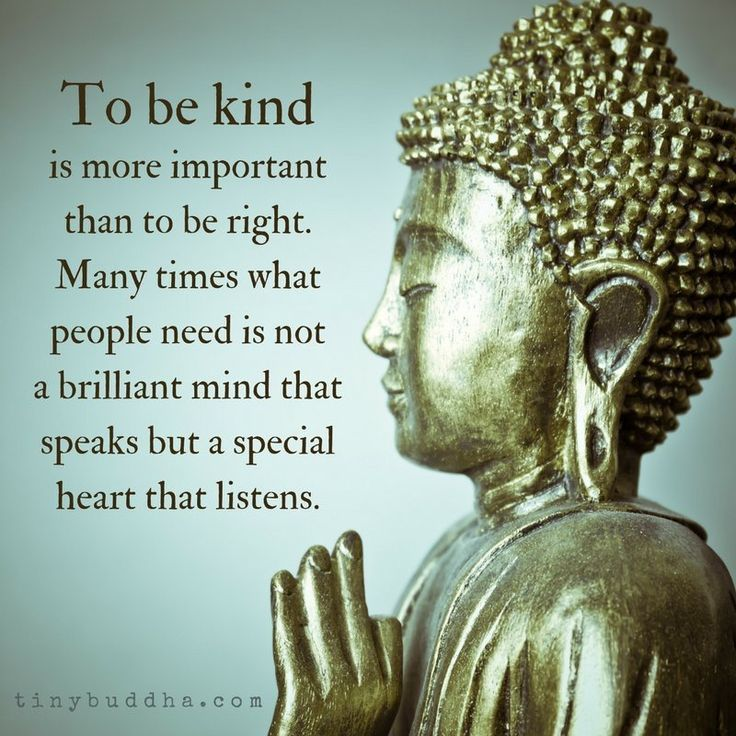 To be kind is more imporant