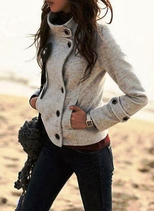 I love everything about this sweater, but would love to see it in a charcoal gre...