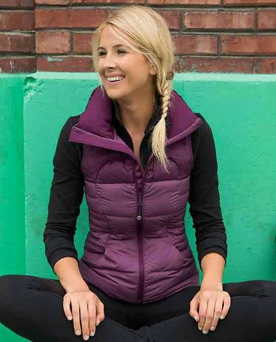 Lululemon Fluffin' Awesome Vest ~ Might need this for fall. In a different c...