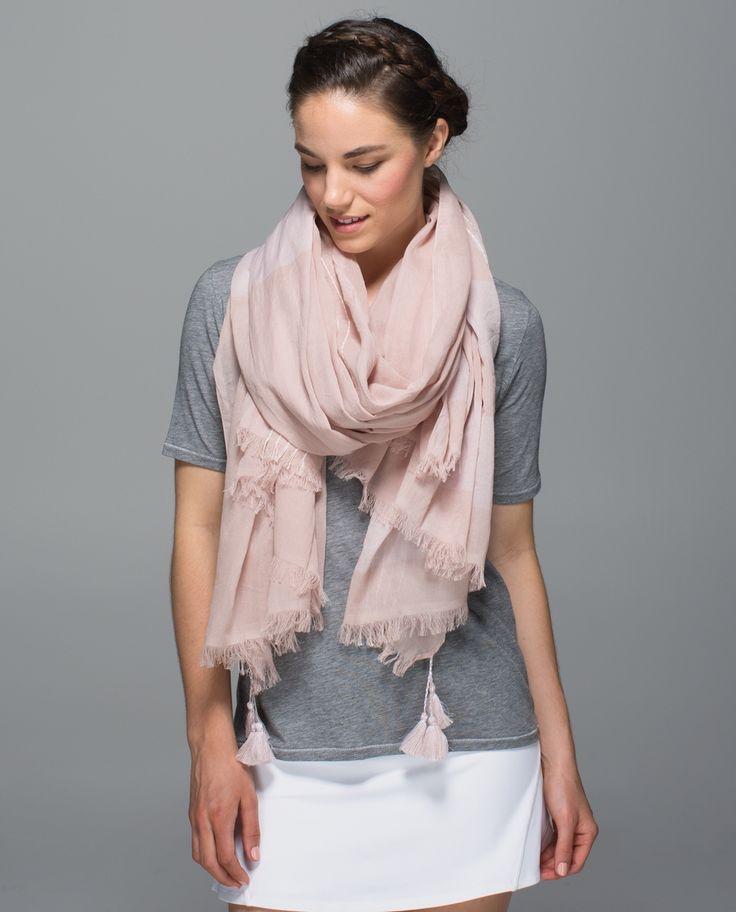 Lululemon Warrior scarf