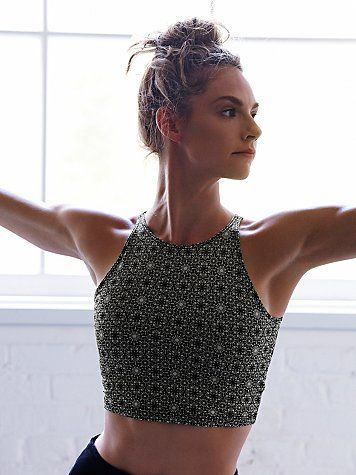Movement crop top bra for extra support