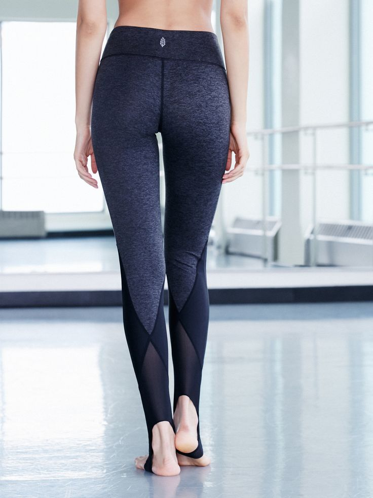Neo Stirrup Legging | Crafted from double-brushed jersey, these leggings feature...