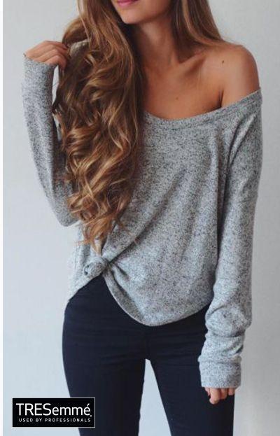 Outfit Ondas Perfectas Castaño - Waves Long Hair Style #TRESemméPerú