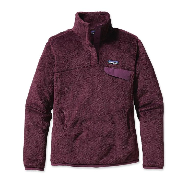 Patagonia Women's Re-Tool Snap-T® Fleece Pullover---these are soooo comfo...