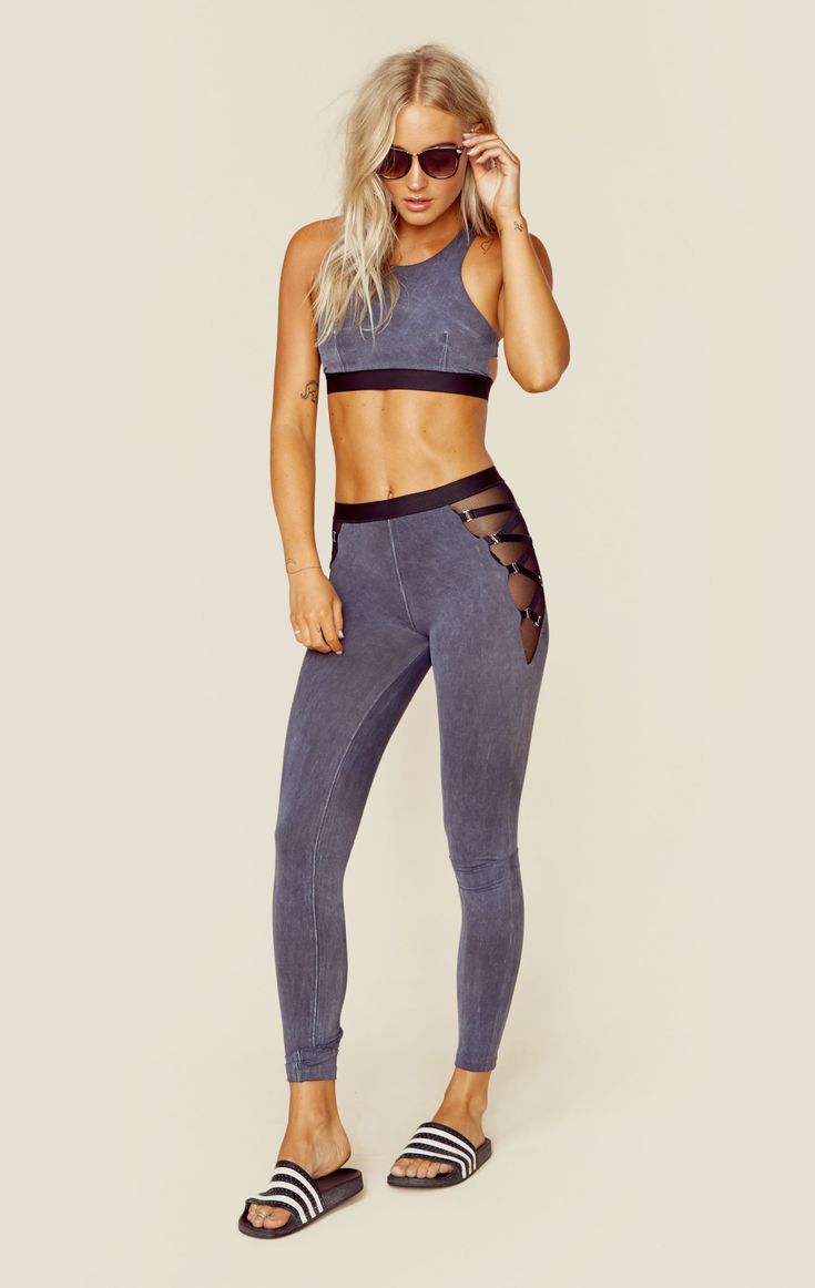 The Blue Life Fit Garter Legging goes beyond your workout. We love this legging ...