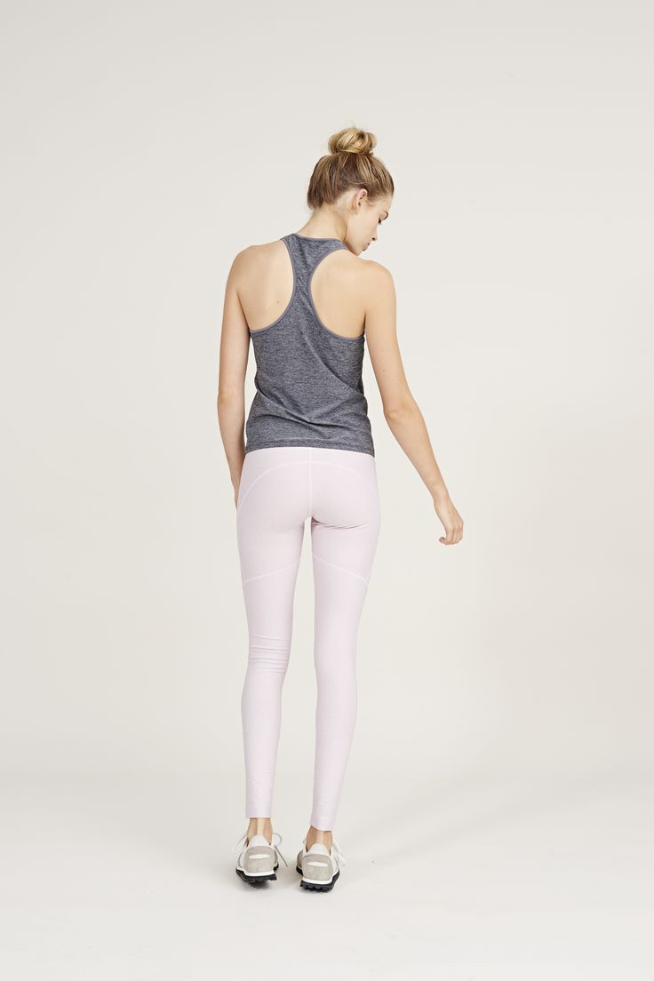 The Warmup Leggings in Chalk Pink from Outdoor Voices. Activewear. Click on the ...