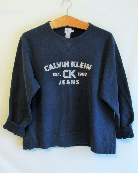 Vintage 1990's Calvin Klein Sweatshirt by FreshtoDeathVintage