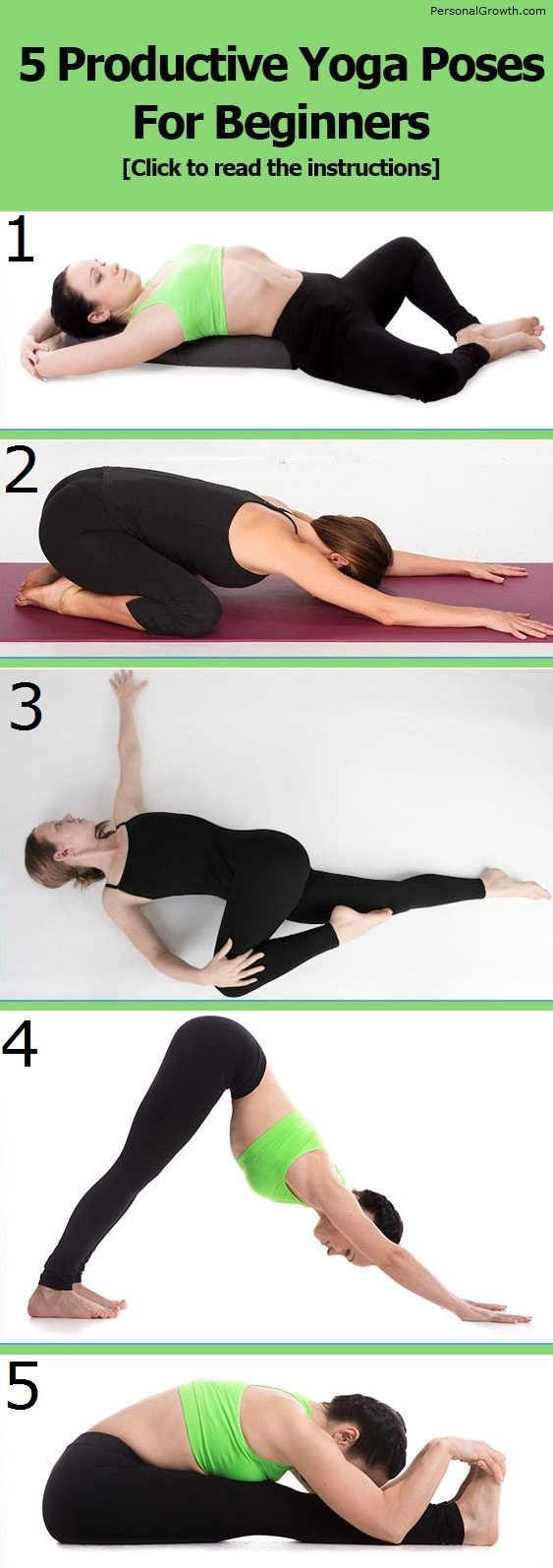 5 Productive Yoga Poses For Beginners