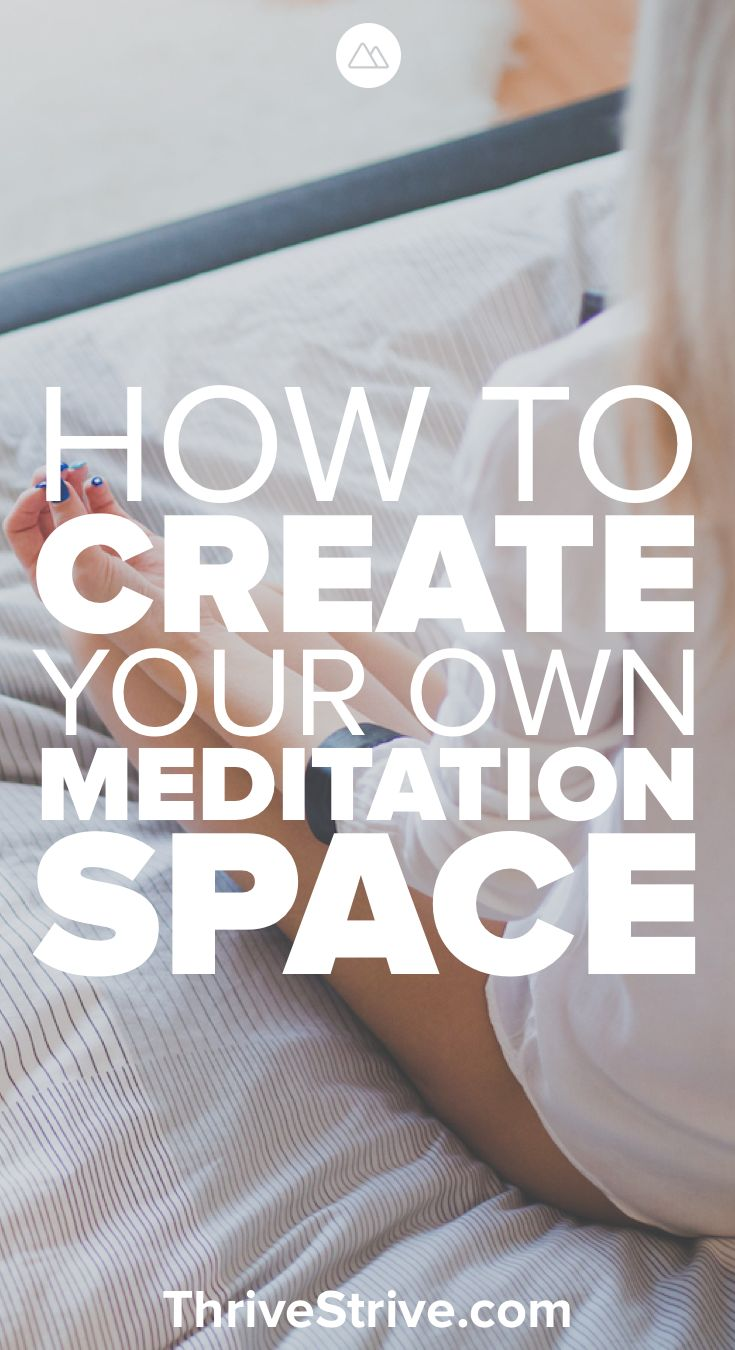 Before you start with meditation for beginners you need to create a meditation r...