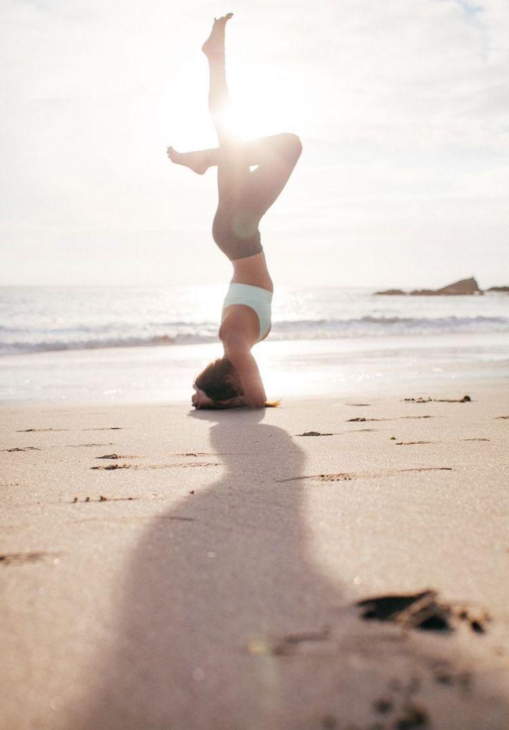 Headstand. #yoga