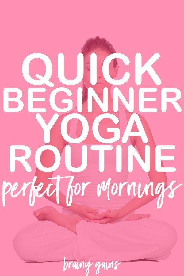 Looking for a fun little beginner yoga workout routine? This one is sure to wake...