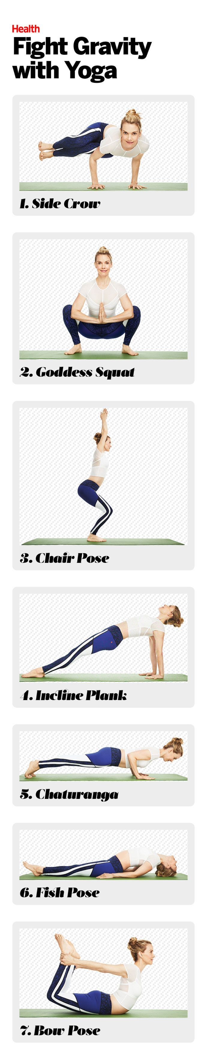 Stop the southern drift with this targeted anti-aging yoga workout that helps sh...