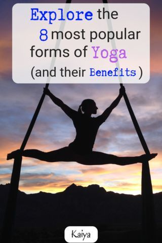 There are many poses of yoga available to try.  Some forms are good for beginner...