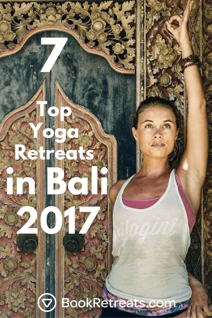 We've picked out 7 top yoga retreats in Bali for 2017. Interested?  Explore retr...